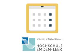 Logo für den Kalender der Hochschule Emden Leer